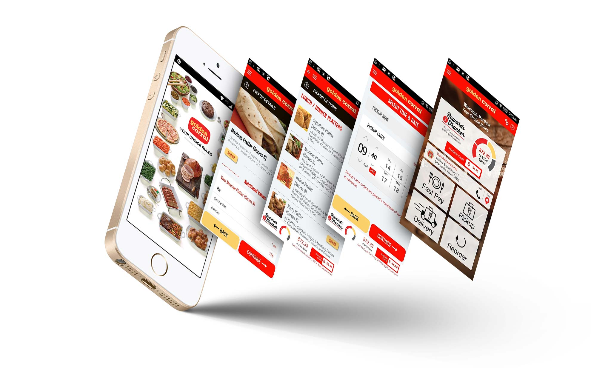 Golden Corral Brownsville - Restaurant App